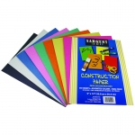 Construction Paper 50 Sheet Asst Color Pack