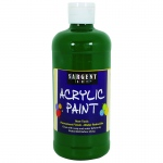 16oz Acrylic Paint - Green
