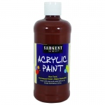 16oz Acrylic Paint - Brown