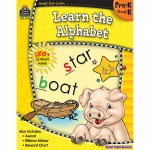 Ready Set Learn Learn The Alphabet Gr Pk-K