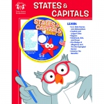 Workbooks & Songs That Teach States & Capitals Workbook & Cd