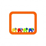 Elephant Name Tags Gr Pk-5