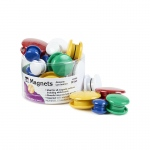 Magnets Round 30/tub Assorted Sizes And Colors