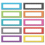 Chevron Labels Magnetic Accents