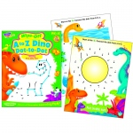 A To Z Dino Dot To Dot Dino-Mite Pals Wipe Off Book