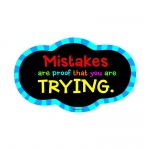 Magnetic Whitboard Mistake Quote Eraser