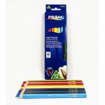 Prang Lg Triangular Colored Pencils 12 Color Set