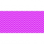 Fadeless 48x50ft Pink Chevron Design Roll