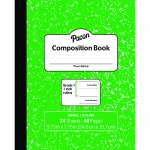 Marble Composition Book Gr 1 Green 1in Ruled