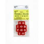 Vowel Dice Set 10 Pc