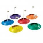 Rubber Putting Cups Set Of 6