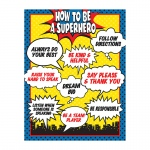 How To Be A Superhero Chart