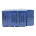 Magnetic Whiteboard 24pk Blue 4x2 Erasers