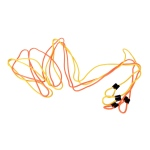 Yellowtails Double-Dutch Jump Rope: Orange/Yellow - 14 feet Length, Set of 2