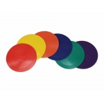"American Education Marker in Polybag: Rounds, Assorted Colors, 9"", Set of 6"