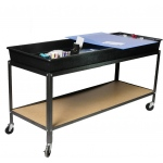 Scott Resources & Hubbard Scientific Hydro-Geology Stream Table with Cart & All Accessories