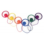 Yellowtails Lemon Twist Jump Rope: Assorted Colors, Set of 6
