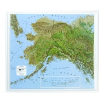 American Education Raised Relief Map: Alaska NCR Series