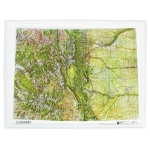 American Education Raised Relief Map: Colorado NCR Series