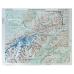 Hubbard  Scientific Raised Relief Map: Denali National Park