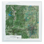 American Education Raised Relief Map: Denver's Playground