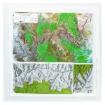 American Education Raised Relief Map: Grand Canyon National Park S Series