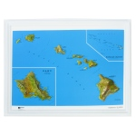 American Education Raised Relief Map: Hawaii NCR Series
