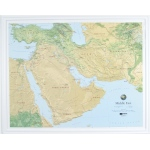 Hubbard Scientific Raised Relief Map: Middle East