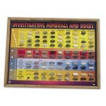 Scott Resources & Hubbard Scientific Investigating Minerals & Rocks Chart: 93 Specimens