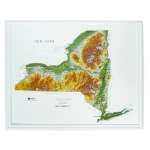 Hubbard Scientific Raised Relief Map: New York State