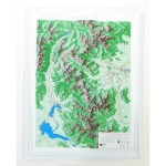 American Education Raised Relief Map: Rocky Mountain National Park S Series