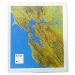 American Education Raised Relief Map: San Francisco Bay