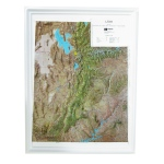 American Education Raised Relief Map: Utah NCR Series