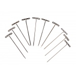 "Ginsberg Dissecting Pin ""T"" Form: 50mm Length, Pack of 10"
