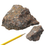 Igneous Rocks Granite: Red, 1 kg