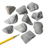 Igneous Rocks Pumice: Gray, Pack of 10