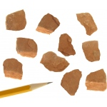 Sedimentary Rocks Shale: Red, Pack of 10