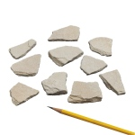 Sedimentary Rocks Siltstone: Pack of 10