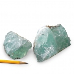 Mineral Fluorite Cleavable: 1 kg