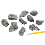 Mineral Cleavable Hornblende: Pack of 10