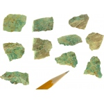 Mineral Malachite: Pack of 10