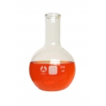 Round Bottom Bomex Tooled Flask: 500 ml Capacity, #6 Stopper Size