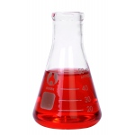 Bomex Erlenmeyer Flask: 50 ml Capacity, #2 Stopper Size