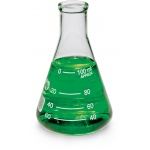 Bomex Erlenmeyer Flask: 100 ml Capacity, #3 Stopper Size