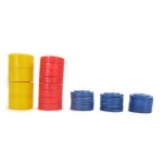 American Education Mass Set Stacking: Round, Plastic