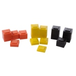 American Education Mass Set Stacking: Square, Plastic