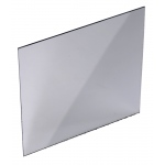 "Silver Backed Glass Mirror with Ground Edges: 4"" x 4"""