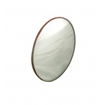Silver Backed Glass Mirror: Spherical, Convex, 7.5 cm D x 7.5 cm FL
