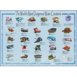 Scott Resources & Hubbard Scientific World's Most Dangerous Water Creatures Poster