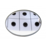Concave Glass Mirror: 50 mm Diameter x 15 cm FL